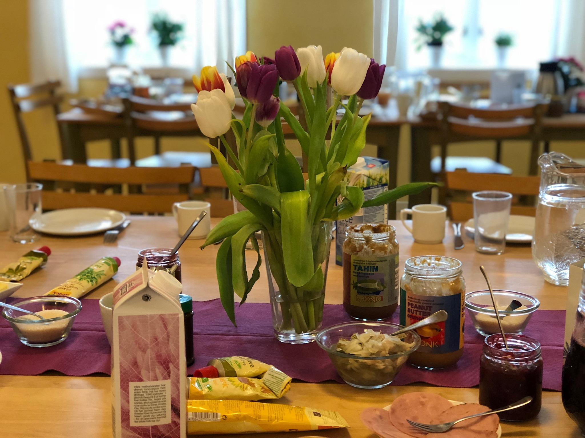 Matbordet på Solstua
